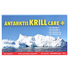 ANTARKTIS Krill Care Kapseln 60 Stück - Vorderseite