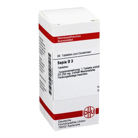 SEPIA D 3 Tabletten 80 St�ck N1