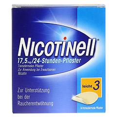 Nicotinell 17,5mg/24Stunden 14 Stück - Vorderseite