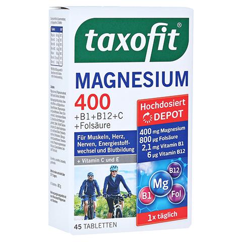 TAXOFIT Magnesium 400 Tabletten 45 Stück
