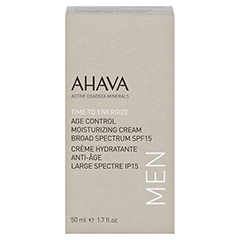 Ahava Men Age Control Moisturizing Cream SPF 15 50 Milliliter - Vorderseite