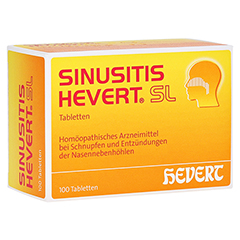 SINUSITIS HEVERT SL Tabletten 100 St�ck N1