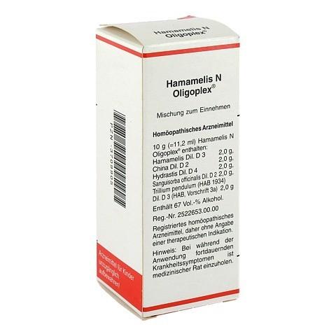 HAMAMELIS N Oligoplex Liquidum 50 Milliliter N1