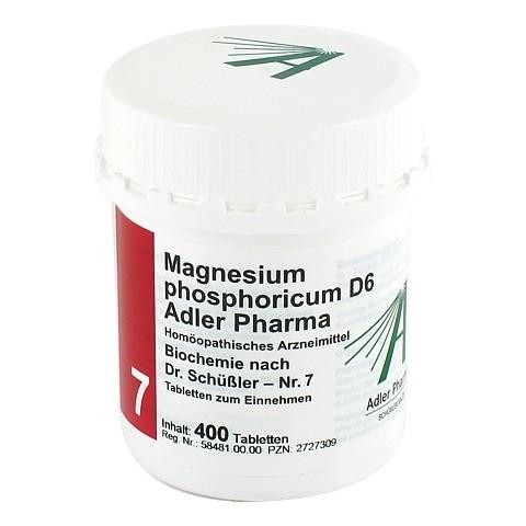 BIOCHEMIE Adler 7 Magnesium phosphoricum D 6 Tabl. 400 Stück
