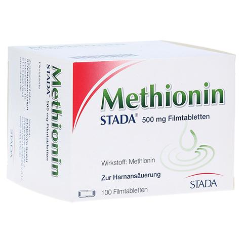 METHIONIN STADA 500 mg Filmtabletten 100 Stück N3
