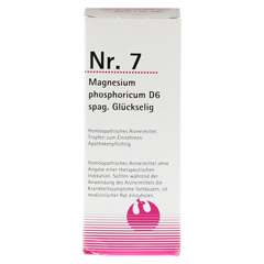 NR.7 Magnesium phosphoricum D 6 spag.Glückselig 100 Milliliter N2 - Vorderseite
