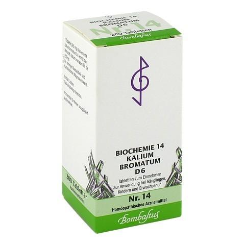BIOCHEMIE 14 Kalium bromatum D 6 Tabletten 200 Stück N2