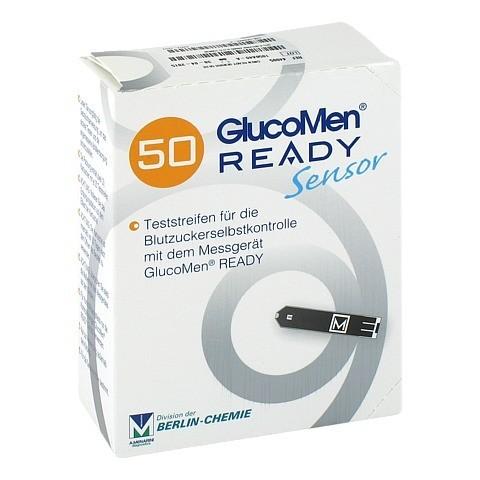 GLUCOMEN READY Sensor Teststreifen 50 Stück