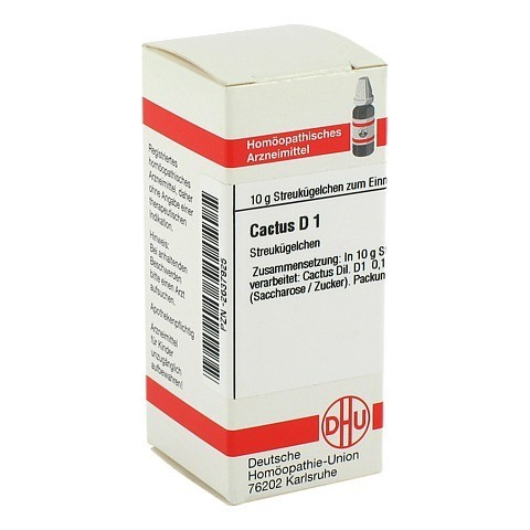 CACTUS D 1 Globuli 10 Gramm N1