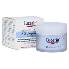 EUCERIN AQUAporin Active Creme trockene Haut 50 Milliliter