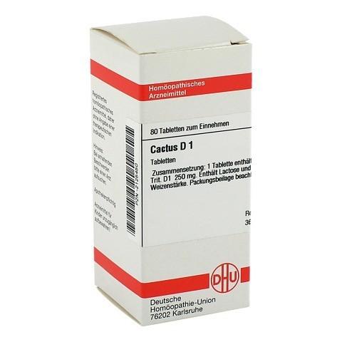 CACTUS D 1 Tabletten 80 Stück N1