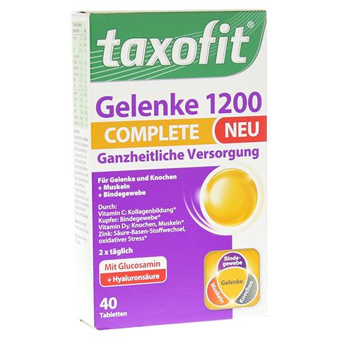 TAXOFIT Gelenke 1200 complete Tabletten 40 St�ck