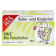 H&S Bio Fencheltee Baby- und Kindertee Filterbeut. 20 St�ck - Vorderseite