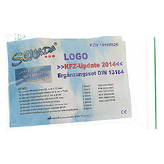 SENADA Logo KFZ-Update 2014 Ergänzungsse.DIN 13164 1 Stück - Rückseite