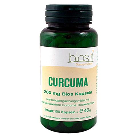 CURCUMA 200 mg Bios Kapseln 100 Stück