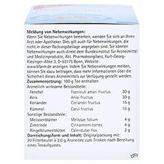 H&S Darm-Heiltee Filterbeutel 20 Stück - Linke Seite