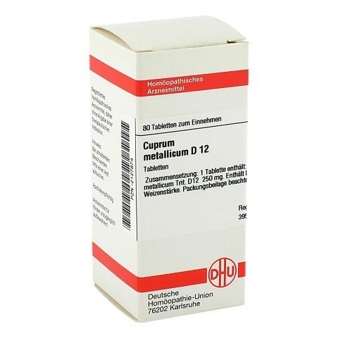 CUPRUM METALLICUM D 12 Tabletten 80 St�ck N1