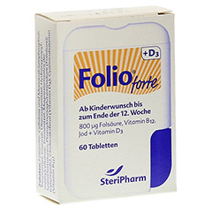 FOLIO forte+D3 Filmtabletten 60 Stück