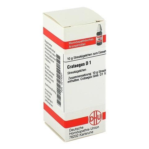 CRATAEGUS D 1 Globuli 10 Gramm N1