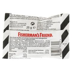 FISHERMANS FRIEND Salmiak ohne Zucker Pastillen 25 Gramm - R�ckseite