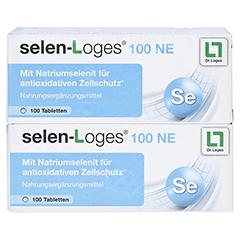 SELEN LOGES 100 NE Tabletten 200 St�ck - Vorderseite