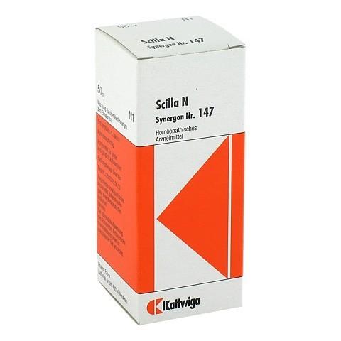 SYNERGON KOMPLEX 147 Scilla N Tropfen 50 Milliliter N1