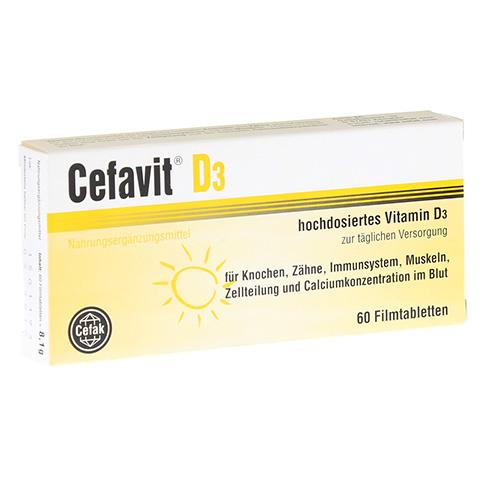 CEFAVIT D3 Filmtabletten 60 St�ck