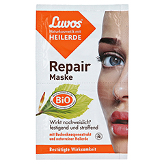 LUVOS Naturkosmetik Heilerde Repair Maske 2x7.5 Milliliter