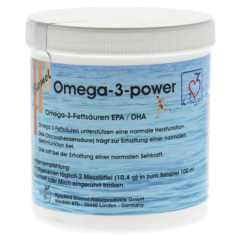 OMEGA 3 Power Pulver 220 Gramm