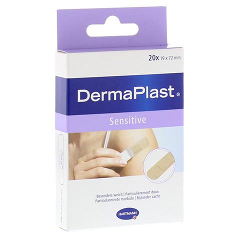 DERMAPLAST sensitive Pflasterstrips 19x72 mm 20 St�ck