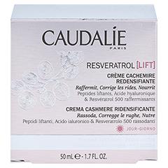 CAUDALIE Resveratrol Lift Kaschmir Creme + gratis CAUDALIE Resveratrol Lift Kräuter-Nachtcreme 15ml 50 Milliliter - Rückseite