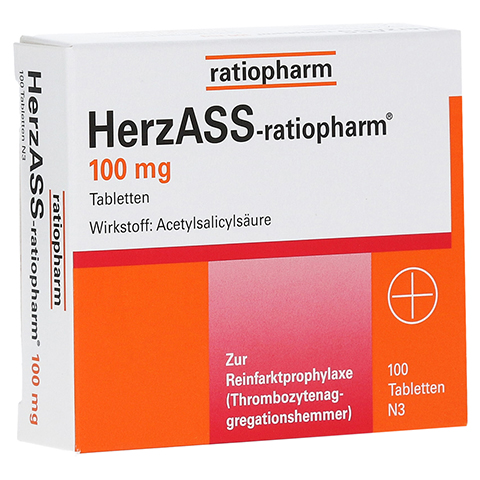 HerzASS-ratiopharm 100mg 100 St�ck N3
