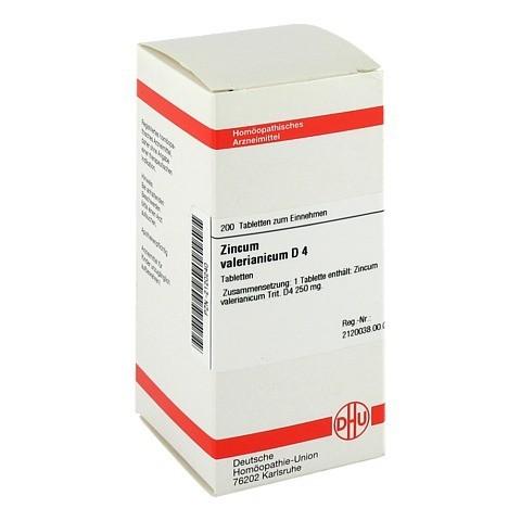 ZINCUM VALERIANICUM D 4 Tabletten 200 Stück N2