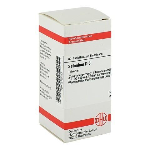 SELENIUM D 6 Tabletten 80 Stück N1