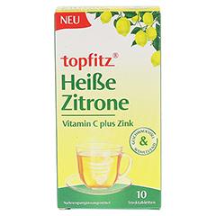 TOPFITZ heiße Zitrone Trinktabletten 10 Stück - Vorderseite