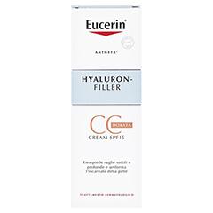 EUCERIN Anti-Age HYALURON-FILLER CC Cream mittel 50 Milliliter - Rückseite