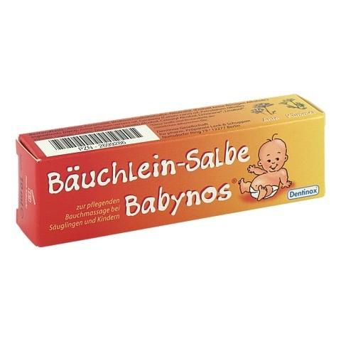 BÄUCHLEIN Salbe Babynos 10 Milliliter