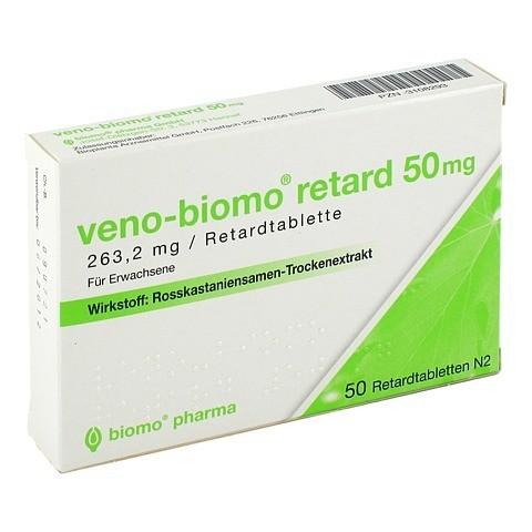 Veno-Biomo retard 50mg 50 St�ck N2