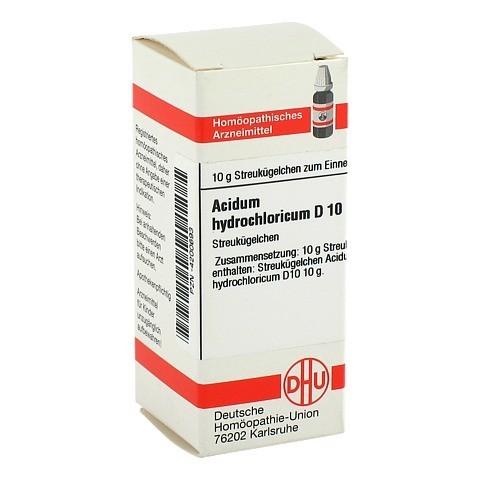 ACIDUM HYDROCHLORICUM D 10 Globuli 10 Gramm N1