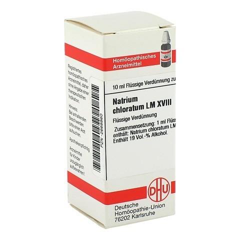 LM NATRIUM chloratum XVIII Dilution 10 Milliliter N1