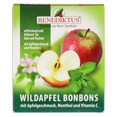 WILDAPFEL Bonbons mit Menthol + Vitamin C 50 Gramm - Vorderseite