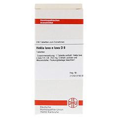 HEKLA lava e lava D 8 Tabletten 200 Stück N2 - Vorderseite