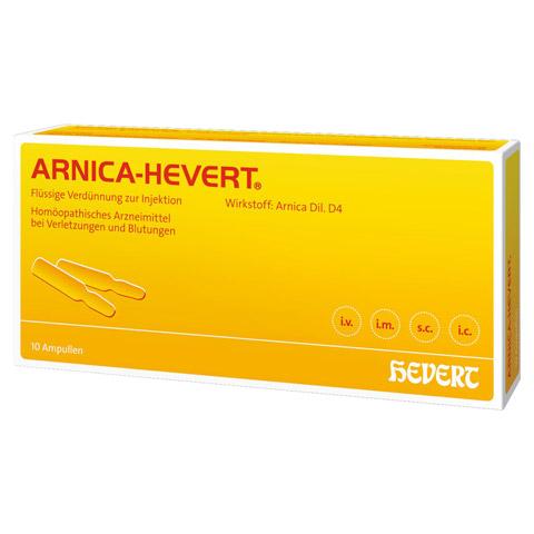 ARNICA HEVERT Ampullen 10 Stück N1