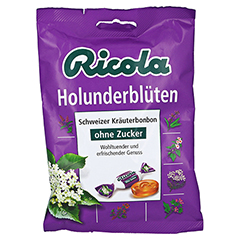 RICOLA o.Z. Holunderbl�ten Bonbons 75 Gramm