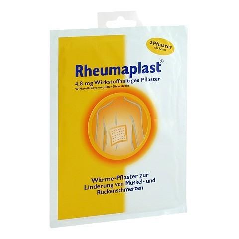 Rheumaplast 4,8mg Wirkstoffhaltiges Pflaster 2 Stück
