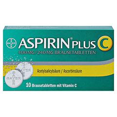Aspirin plus C 10 Stück - Vorderseite