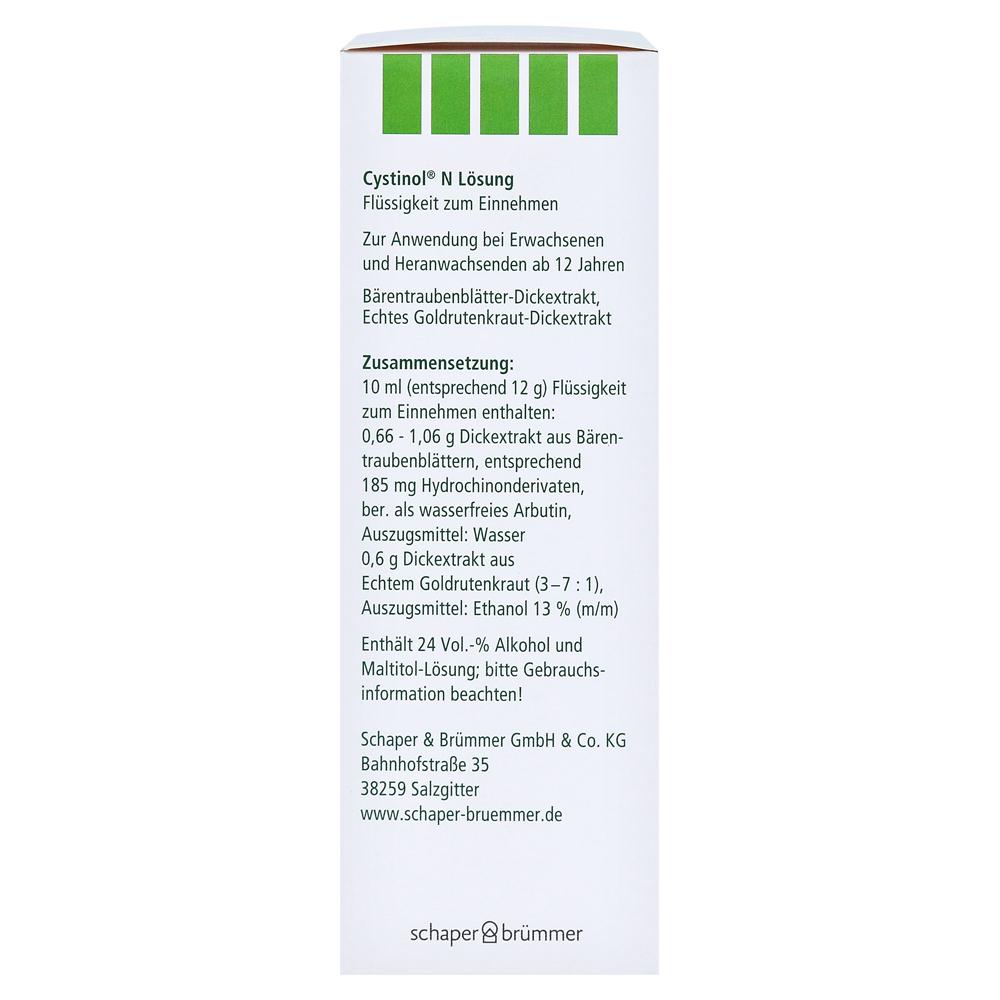 Erfahrungen zu Cystinol N Lösung 100 Milliliter - medpex