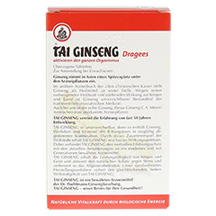 Tai Ginseng Dragees 120 Stück - Rückseite