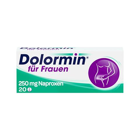 Dolormin für Frauen mit Naproxen 20 Stück