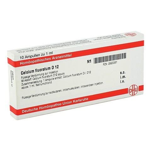 CALCIUM FLUORATUM D 12 Ampullen 10x1 Milliliter N1